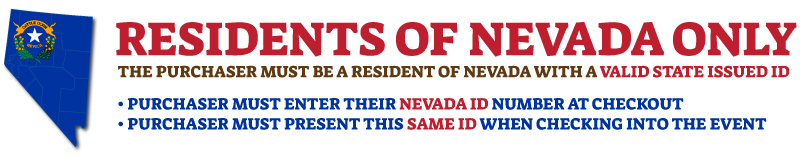 Nevada Resident Four Day Music Only Wristband Bender Jamboree